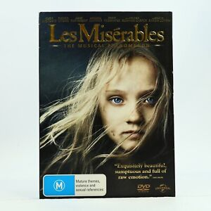 Les Miserables Slip Cover Hugh Jackman Russell Crowe Anne Hathaway DVD GC
