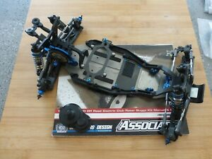 Team Associated RC10 B6 Rolling Chassis 2WD 1/10 RC buggy with spares