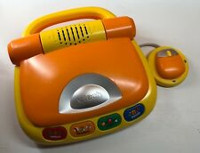 Tech Tote N Go Laptop Learning System Education Toy Kid Preschooler, Orange