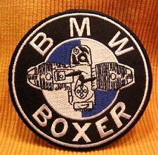 BMW Boxer Gummikuh NineT G R S Reihe 65 80 1000 HP2 1200 Retro Aufnäher/-bügler