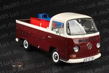SCHUCO Volkswagen VW T2a Pritsche mit Seifenkisten Truck 1/18 Diecast Model