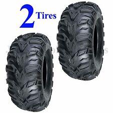 TWO AT 25x8-12 ATV TIRE Sedona MUD REBEL 25/8-12 25x8.00-12 25/8.00-12  6ply