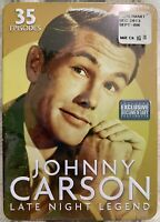 The Johnny Carson Show: Late Night Legend DVD Brand New! 35 Episodes Bob Hope