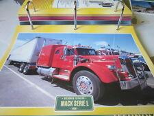 Super trucks âge d'or usa Mack serie L 1950