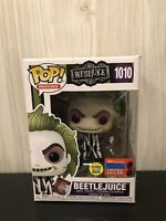 Movies Beetlejuice Glow In The Dark 2020 NYCC Exclusive Funko Pop