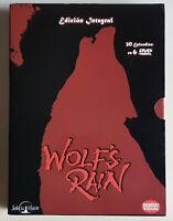 MANGA - WOLF`S RAIN - 6 DVDs - BANDAI VISUAL/ SELECTA VISION - ED. ESPAÑA 2005