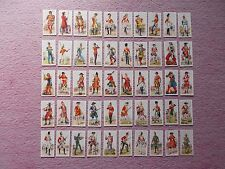 CIGARETTE CARDS  - HISTORY OF ARMY UNIFORMS