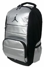 NEW Nike Air Jordan All World Backpack Bookbag Silver School Bag Laptop Storage