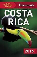FROMMER'S COSTA RICA 2016 (colore GUIDA COMPLETA), Greenspan, Eliot, eccellente BO