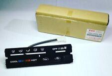Suzuki Sidekick Vitara 89 92 A/C Heater Control Panel Dash OEM