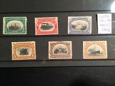 United States stamps 1901 PanAmerican Exposition Complete set MH NG High Value