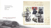 24 FEBRUARY 2005 JANE EYRE M/SHEET ROYAL MAIL FIRST DAY COVER BUREAU SHS (x)