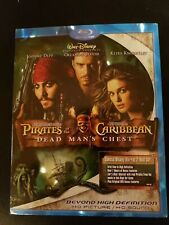 Pirates of The Caribbean, Dead Man's Chest, Blu-ray W Slipcover, Lot H3.
