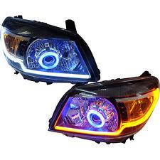 2009-11 Ford Ranger T5 Xlt Upgrade Head Lamp Light Projector Hid Drl Blue Ute_