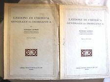 Giordani LEZIONI DI CHIMICA GENERALE ED INORGANICA in 2 voll. ed. Treves