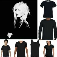 Wendy James T-Shirt Transvision Vamp Mens 80's Music Pop Silhouette Top