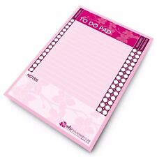 Monster Stationery - A5 Cherry Blossom To Do Pad  / Daily Schedule Desk Planner