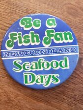 Newfoundland Sea Food Days Badge