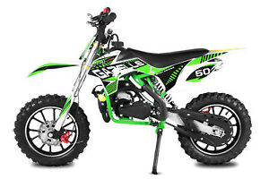 Kinder Dirt Bike 49ccm Cross Vollcross Pocketbike Enduro 49cc Pocket Motorrad G