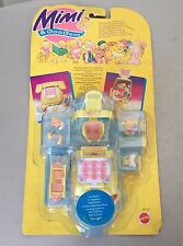 1995#Vintage Mattel Mimi & Goo Goos  Belle's Phone-in & Telephone	 Set #Mosc