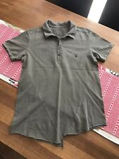 ALL SAINTS POLO T SHIRT - SIZE SMALL