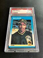 1987 Fleer Barry Bonds #604 Rookie RC PSA NM-MT 8 Pirates San Francisco Giants