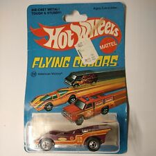 hot wheels flying colors American Victory #7662 mint on original card 🤩