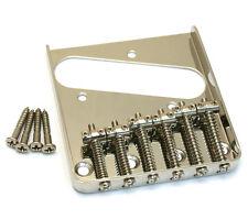 Telecaster vintage ashtray guitar bridge chrome black gold satin & screws new