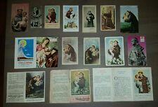 Sant'Antonio da Padova Santini e Libretti di preghiera Holy Card