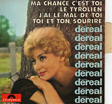 COLETTE DEREAL MA CHANCE C'EST TOI FRENCH ORIG EP JEAN BOUCHETY /FRANCOIS RAUBER