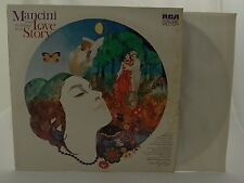 MANCINI PLAYS THE THEME FROM LOVE STORY~RCA Vinyl LP Stereo 1970 LSP-4466 VG+/VG