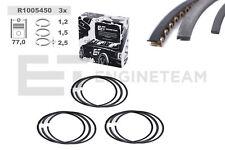 3x Kolbenringsatz R1005450 +0,50 mm VW SKODA SEAT 1,2 AWY AZQ BME BMD AZQ AWY