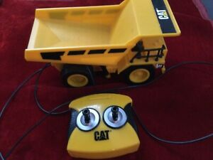 Toy CAT Dump Truck Construction Vehicle -Wired Remote