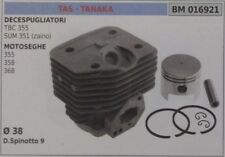 CYLINDER AND PISTON COMPLETE CHAINSAW TAS TANAKA 355 358 368 Ø 38