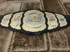 AEW WORLD WRESTLING Championship Belt.Adult Size.dual plated