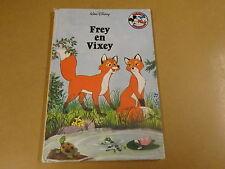 BOEK WALT DISNEY / FREY EN VIXEY