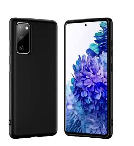 For Samsung Galaxy S21+ S20 FE Ultra S10e S9 S8 5G Liquid Silicone Case Cover