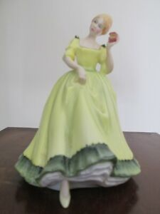 Royal Doulton Figurine Figure Paula HN 2906  1980  - 1986 P Parsons Yellow Dress