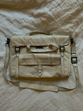 FREITAG  RARE  ALL WHITE VINTAGE MESSANGER BAG  LIMITED