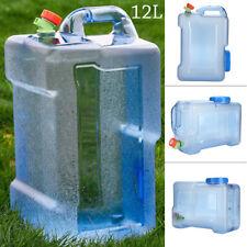 12L Wasserkanister Wasser Kanister mit Hahn Trinkwasserkanister Camping Zubehör
