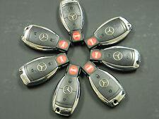 LOT OF 7 Mercedes Benz Infra Red BLACK Key Fob OEM IYZ3317 IYZ 3317