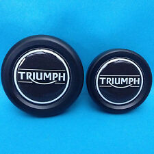 TRIUMPH SPRINT SPEED TRIPLE DAYTONA 1050 955 509 AXLE WHEEL SPINDLE PLUGS BUNGS