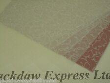 Printed Vellum White - Oriental Design 25 Sheets 100gsm A4 Cardmaking AM504