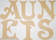 EXTRA LARGE A-Z Lettere in legno MDF 40 CM-FATTO A MANO, nomi, i segnali -- longdon