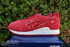 ASICS GEL RESPECTOR SZ 9 4TH OF JULY INDEPENDENCE PACK RED WHITE H6U3L 2525