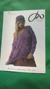 knitting pattern for  ladies and childs double knitting cardigan size 28 to 44