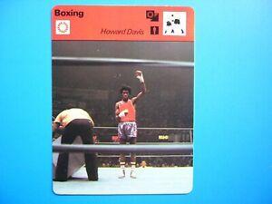 1977 1977/79 SPORTSCASTER BOXING PHOTO HOWARD DAVIS 1976 OLYMPIC GOLD MEDALIST