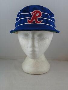 Richmond Braves Hat (VTG) - Classic Pillbox by AJD - Adult Snapback