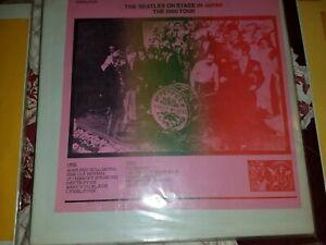 Beatles Bootleg Lps 5 Lot Nm