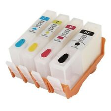 4 pk Comp Refillable Empty Cartridges For HP 920 XL 920XL Officejet 7500a 6500a